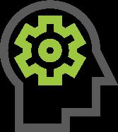 15 icons - head gear brain